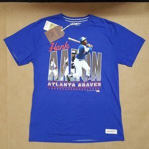 Mitchell & Ness Hank Aaron T-Shirt Men Size XL